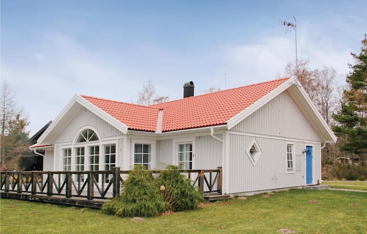 Awesome home in Brandstorp with WiFi and 3 Bedrooms