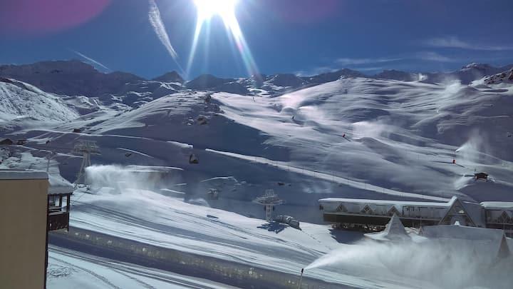 T1 Val Thorens - Vue sur les pistes