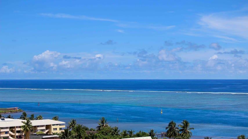 🌺 TAHITI GRAND DUPLEX vue panoramique à 180° !