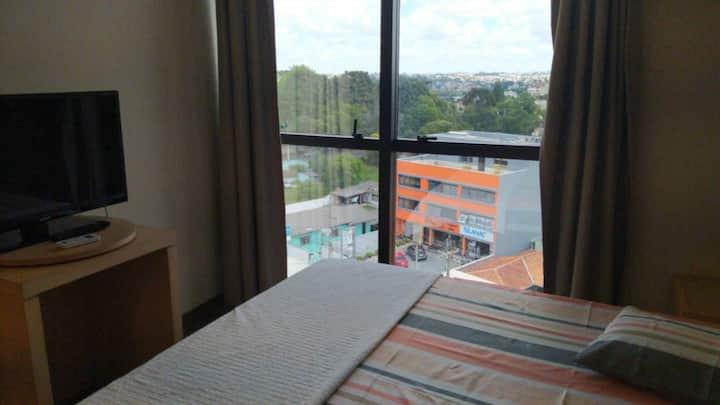 Hotel Espetacular Próximo do Centro de Curitiba