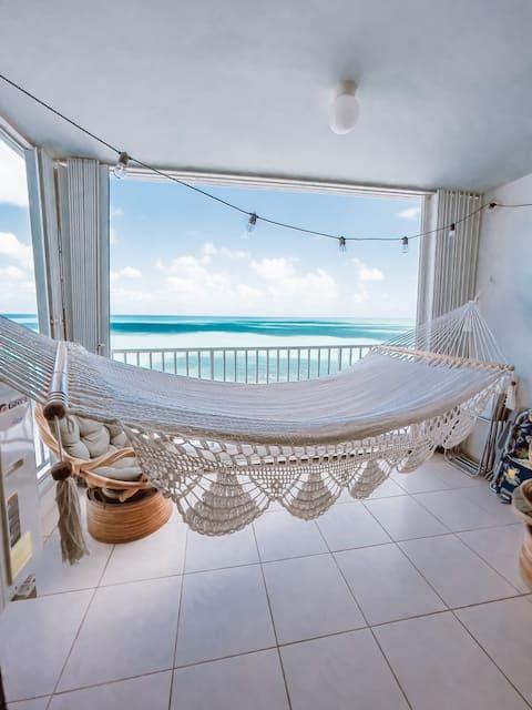 Casa Palmas Luquillo, Mooie Ocean View Apt