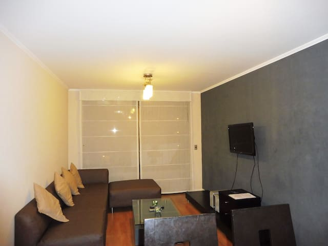 Lima Miraflores 3Bed with Balcony - Lima - Apartment