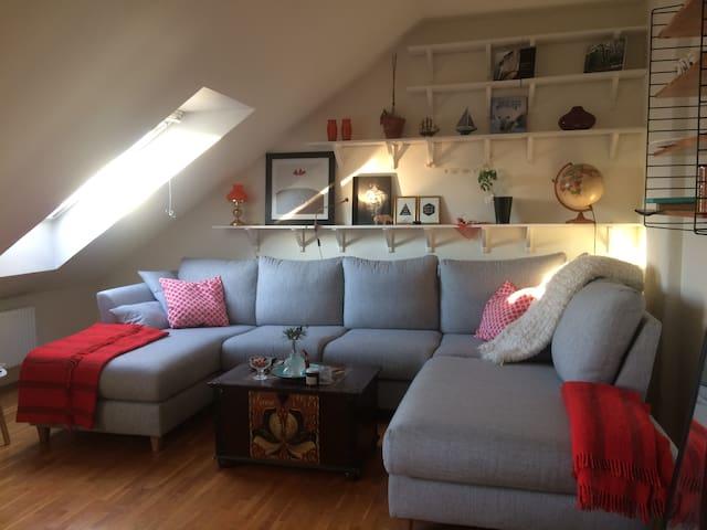 Unique and charming apartment in 2 levels. - Tukholma - Huoneisto