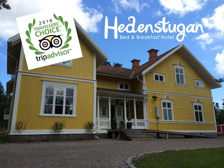 Hedenstugan Bed and Breakfast Hotel - doubleroom