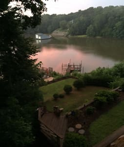 Sunset on the Dock - Saluda - House