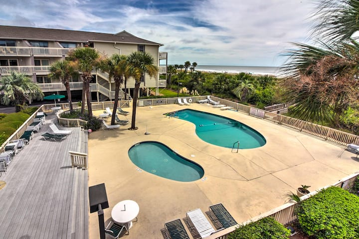Hilton Head Island Condo w/ Ocean Views!