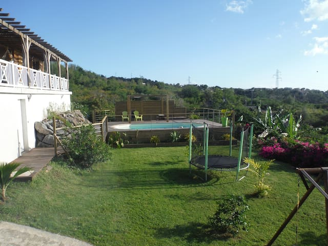 Villa avec piscine vue sur mer - Vieux Habitants - Casa