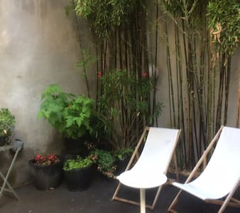 Spacious studio with private patio - 根特 - 獨棟