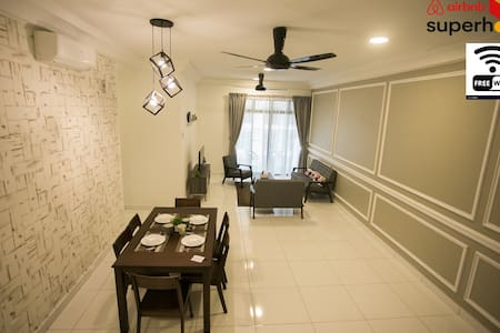 【The Platino】3min to Paradigm mall 3BR 6-8pax WIFI