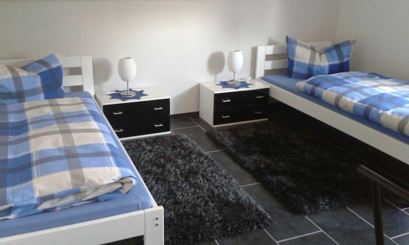 Zwei Einzelbetten separat