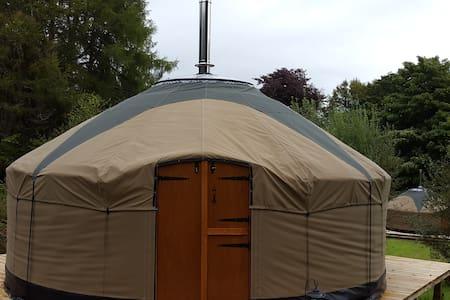 Glamping at Skye Yurts- Water Yurt - Isleornsay
