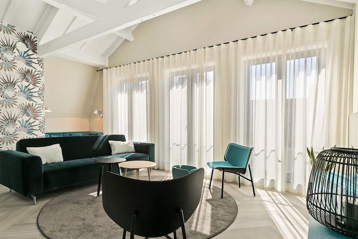 Luxe appartement in het centrum van Domburg