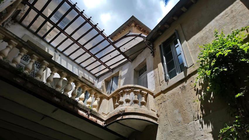 Montpellier T2 terrasse centre historique