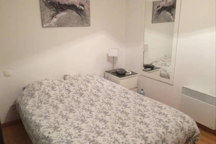 Chambre spacieuse dans appartement Cosy