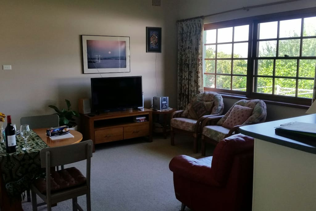 Living area, suitable for a couple or small family