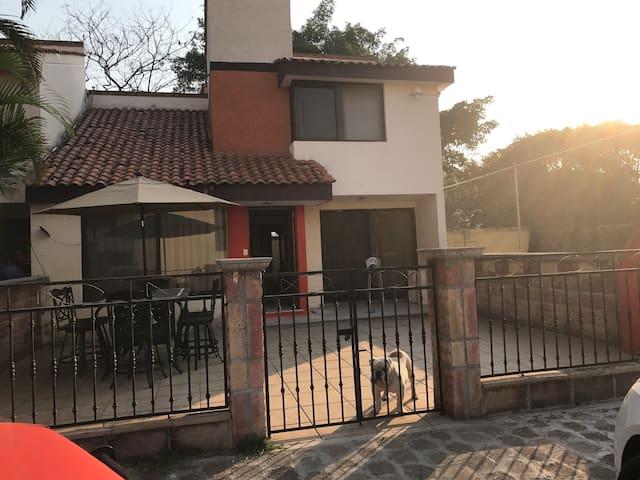 Casa de Descanso Familiar en Jiutepec Cuernavaca