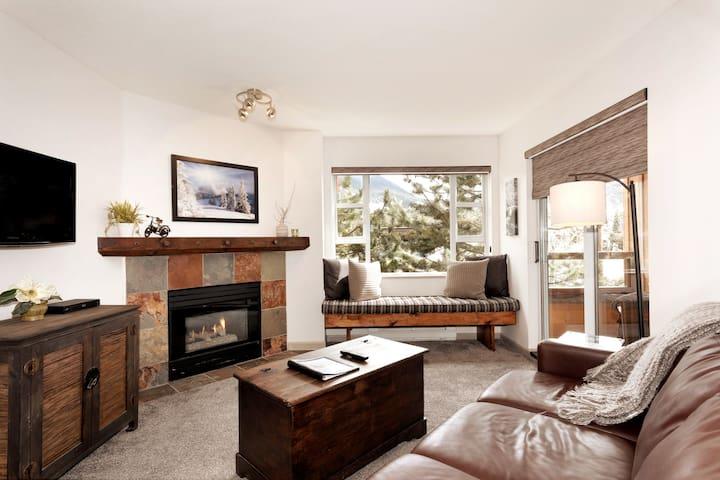 Mountain Views in Whistler Village -  1 Bedroom