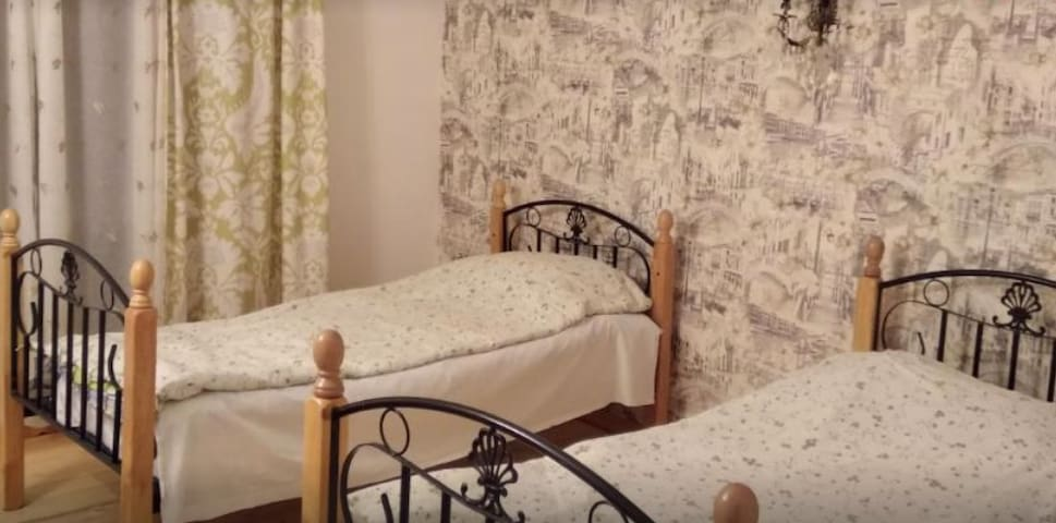 ArtSon #1, 2 single beds, Views, Relaxation