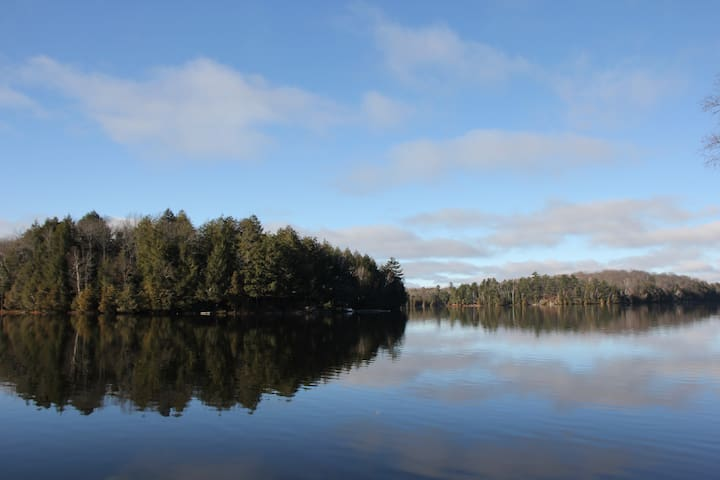 Gorgeous Waterfront Retreat Only 2 Hours From GTA - Parry Sound - Kulübe