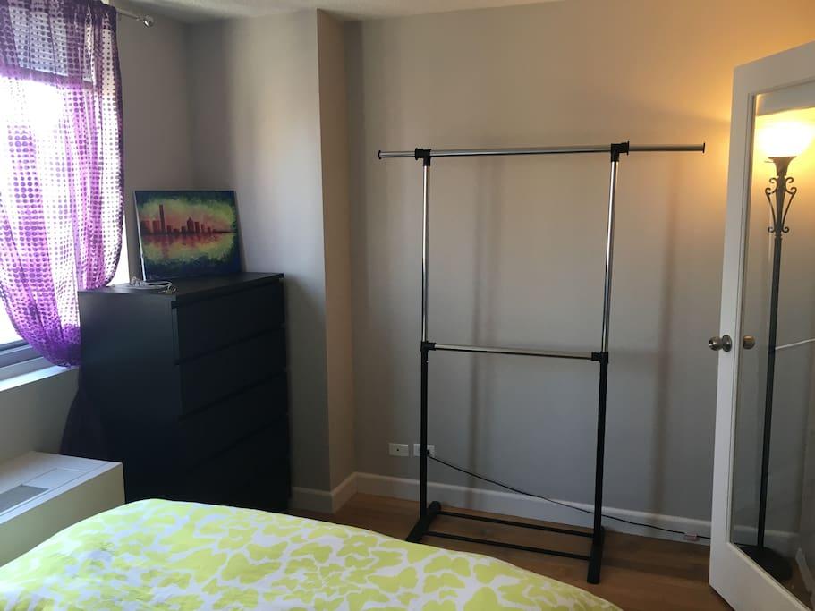 Dresser and Rack