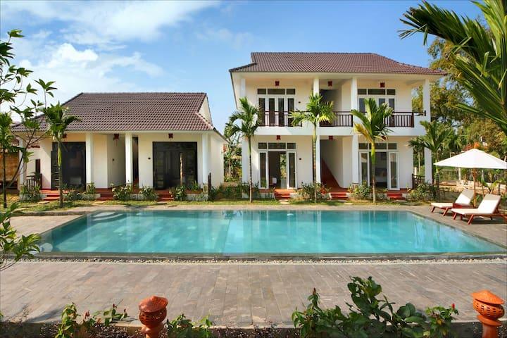 Green Areca Villa/ Travel Villa - tp. Hội An