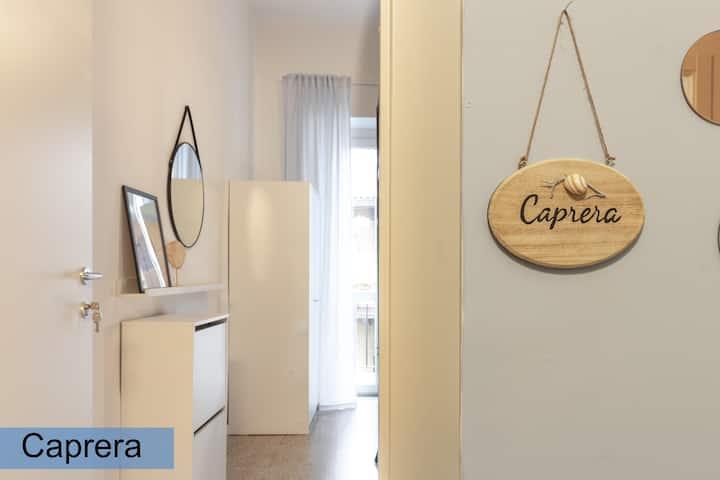 Caprera: Camera Singola in Appartamento condiviso