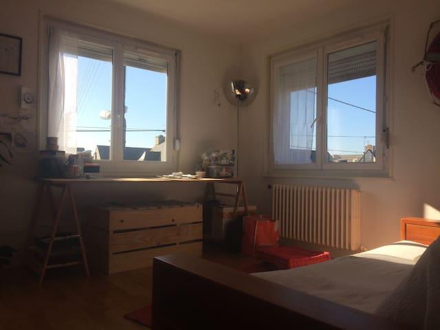bureau/canapé réversible 2 places