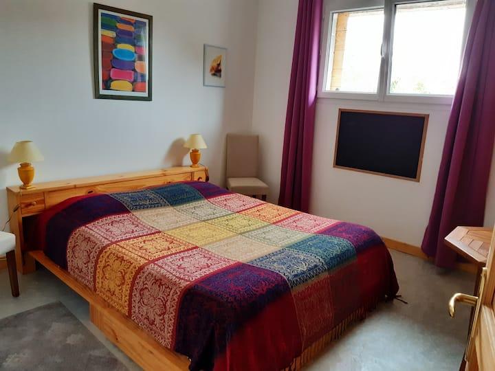 Chambres chaleureuses au pied du Vercors