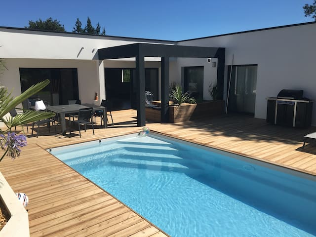 Villa d architecte contemporaine - Anglet - Vila
