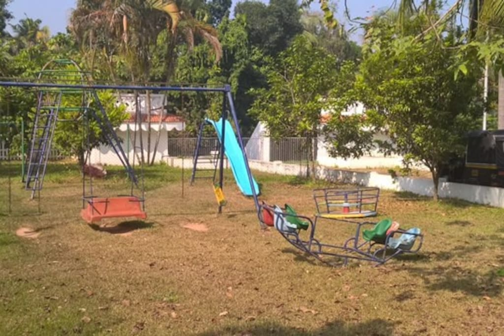 Children's Play area within the complex, right opposite our Villa