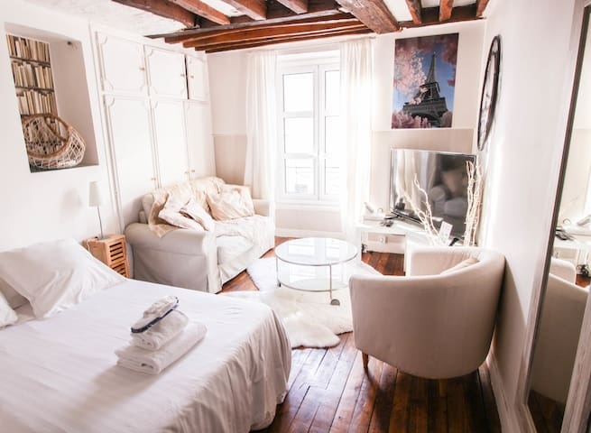 CHARMING STUDIO BETWEEN EIFFEL TOWER AND INVALIDES