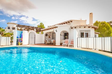 Private Luxury Villa Sleeps 8 WiFi Pool Satellite - Monte Pego - Vila