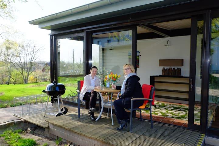 """Neues Ferienhaus """"Havel"""" in sehr ruhiger Lage - Hansestadt Havelberg - Ház"""