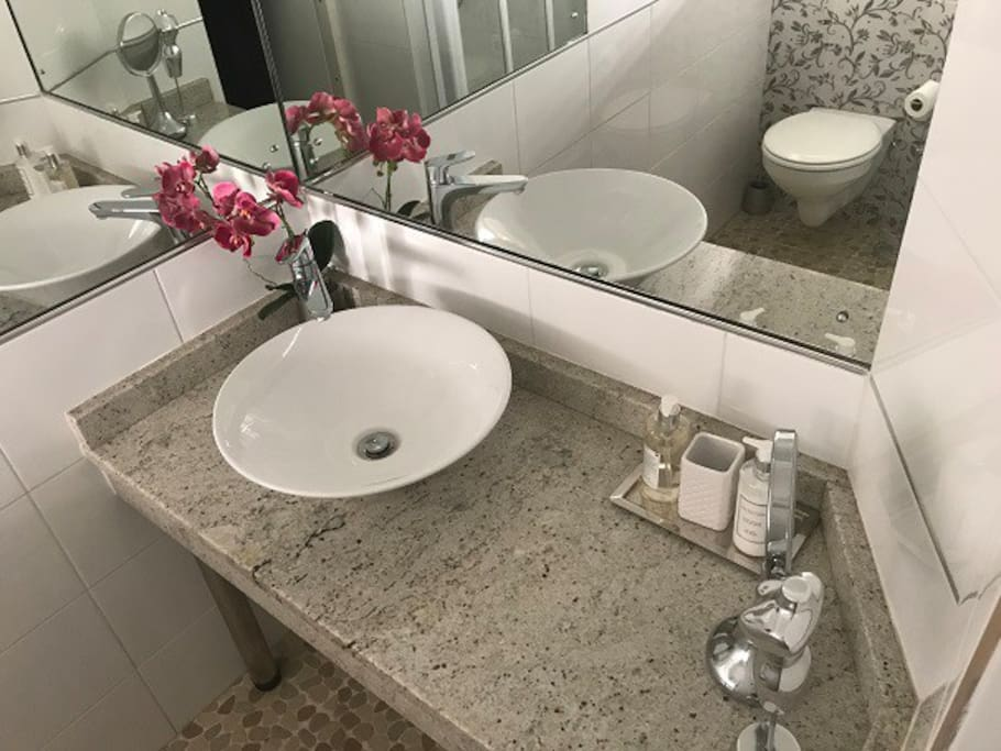 En-suite Bathroom with Shower, Basin and w/c