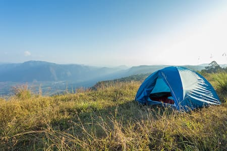Camping at Western Ghats- 3500 ft above sea level - Idukki