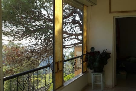 Central and homely place surrounded by trees... - Haifa - Apartment