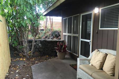Private detached studio in Kailua-Kona - Makai - Vendégház