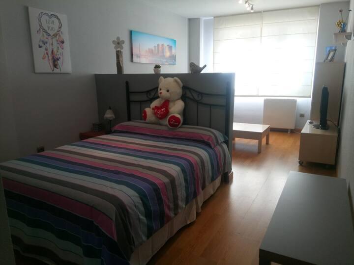 Precioso e idílico apartamento.