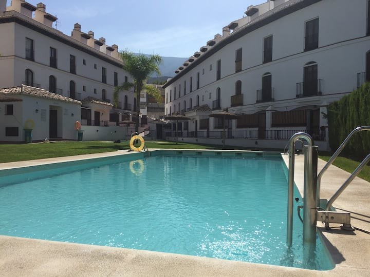 Duplex apartment bella with shared pool