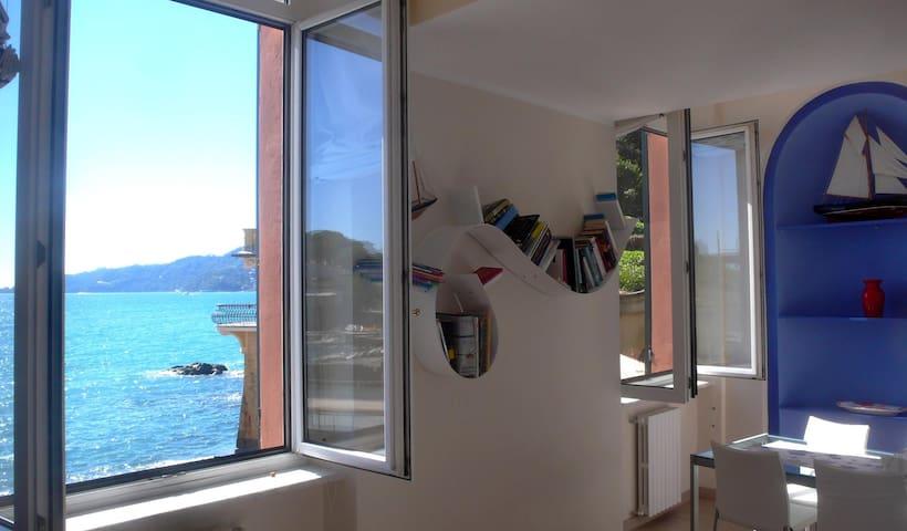 La casa sulla spiaggia - Rapallo - Apartemen
