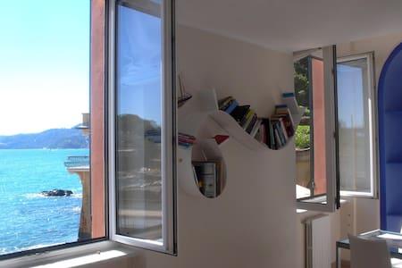 La casa sulla spiaggia - Rapallo - Appartement