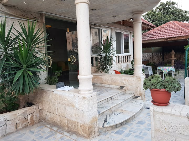 Irbid .. good house with good aere to sit outside