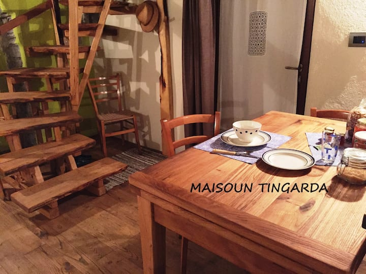 Typisches Susa-Tal Haus