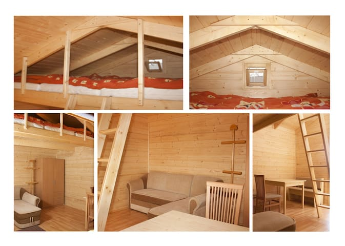 CHATKA 1(max.5 osob)-CHALET (max.5 people)