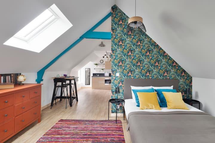 LA COTISSOISE - Studio avec jardin - Lanvallay