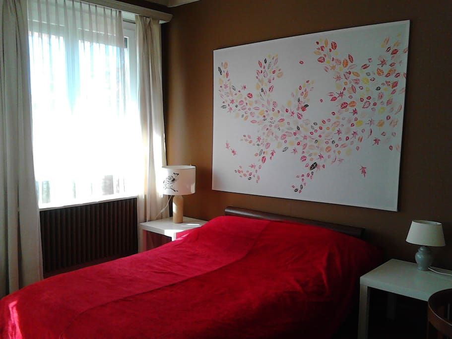 Grande chambre avec balcon appartements louer gen ve for Chambre geneve