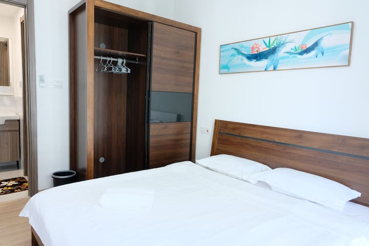 【LiiTao】Cozy 2-bedroom unit at Forest City