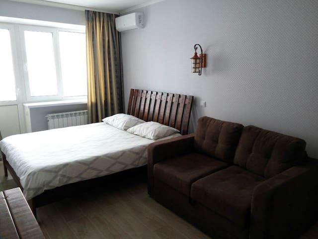 Уютная квартира  со стильным ремонтом возле метро