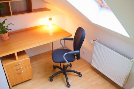 Independent TRAVELER's attic ROOM in CITY-CENTER - Praga