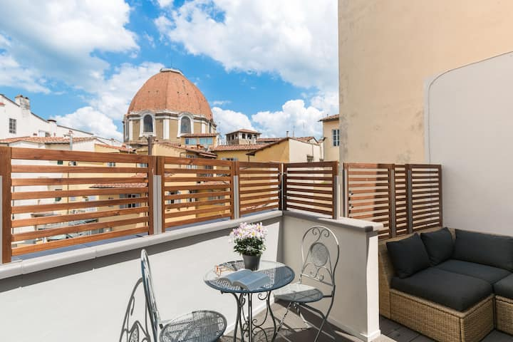 Florence Concierge-OPEN SPACE WITH TERRACE&VIEW
